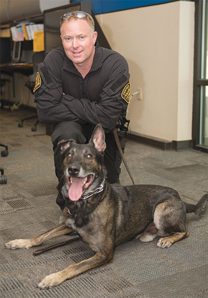 Special Feature: Tucson PD's Borus and Sgt. Pelton