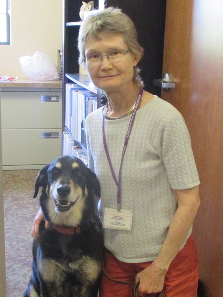 Pet Therapy Provides a Wet Nose in a Difficult Time