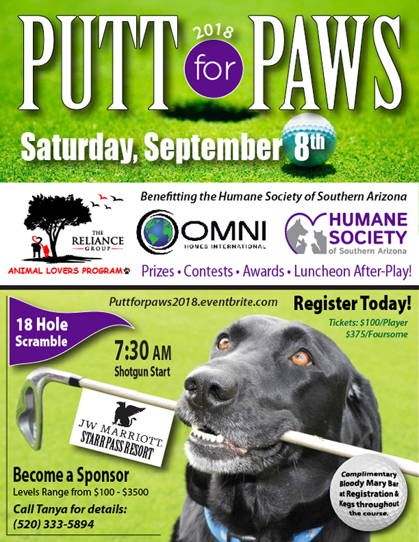 Putt for Paws 2018