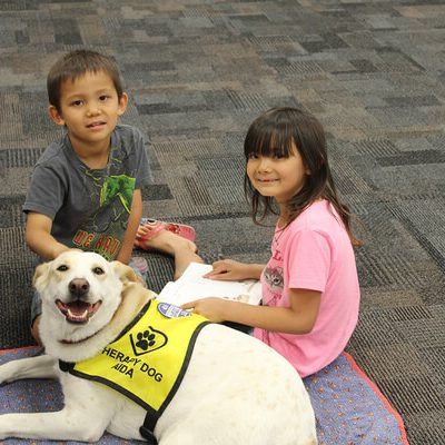 Kids and Animals: Learning to Read One Dog at a Time