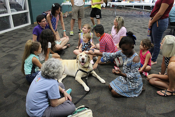 Kids and Animals: Sparks 'N Barks