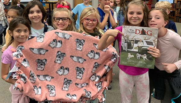 Third Grade Students for Four Legged Friends