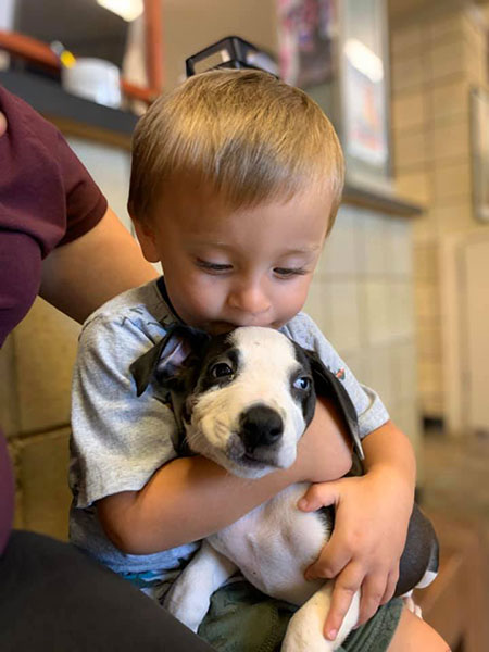 The Benefits of Dogs for kids