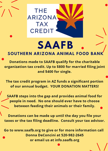 Southern Arizona Animal Food Bank: A Lifeline During Hard Times