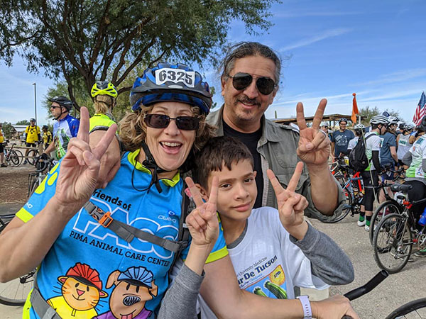 El Tour de Tucson and Friends of PACC, Saddling up for a Good Cause